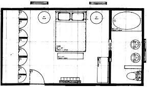 plans master bedroom floor plan