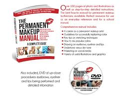 the permanent makeup manual dvd