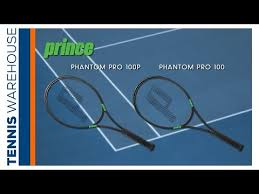 prince phantom racquets from tennis