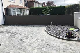 Contemporary Composite Fence Panels Formby Merseyside Abel Landscaping