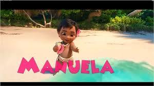 Video Invitacion Digital Animada Moana Bebe Personalizado 210
