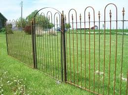 Solid Steel 5 Tall Fencing Yard Enclosure Wrought Etsy In 2020 Wrought Iron Design Wrought Iron Fences Iron Fence