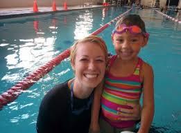 Abby Fisher Age 5 Porpoise Graduate | Evo Swim School