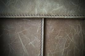 scratches on leather furniture