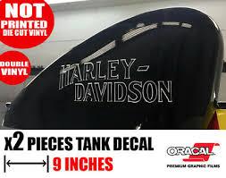 Harley Davidson Gas Tank Sticker Tank Logo Decal Motorcycle Tank Decal Emblem Ebay