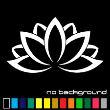 Namaste Quote Lotus Flower Wall Decal Yoga Vinyl Sticker Harmony 1pc Am8 For Sale Online Ebay