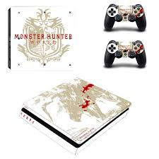 Monster Hunter World Ps4 Slim Skin Sticker Decal Vinyl For Sony Playstation 4 Console And 2 Controllers Ps4 Slim Skin Sticker Consoleskins Co