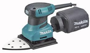 Sander Finishing Makita 112x90mm 200w Bo4565k Bunnings Warehouse Makita Makita Tools Finishing Sander