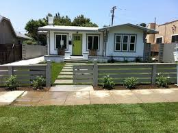 Low Modern Horizontal Fence Fence Design Modern Fence Bamboo Fence