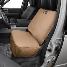 1st or 2nd row tan seat protector