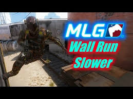 how to slow wall run in black ops 3