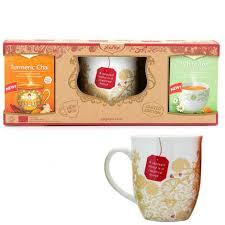 yogi tea gift pack and cup yogi tea