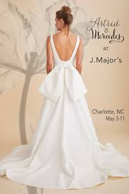 charlotte wedding gown trunk show at j