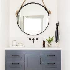 rope hanging vanity mirror design ideas
