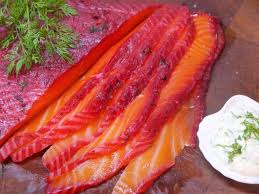 Vodka, Dill and Beetroot Cured Salmon ...