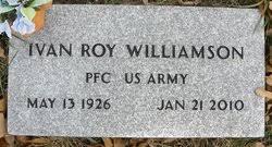 Ivan Roy Williamson (1926-2010) - Find A Grave Memorial