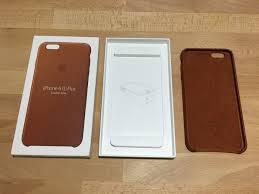 iphone 6s plus original saddle brown