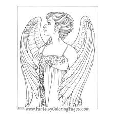 Deryne By Ina Jane Angel Fantasy Myth Mythical Legend Wings