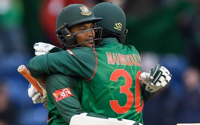 Image result for shakib al hasan and mohammad batting""