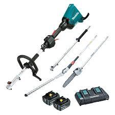 Makita 36v 18v X 2 Brushless Multi Function Power Head Pole Saw And Hedge Trimmer Kit Dux60pshpt2 Mitre 10