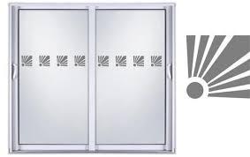 etched glass vinyl sliding glass door
