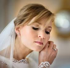 absolutely flawless bridal hair and
