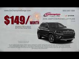 chion new 2019 jeep cherokee lease