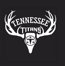 Automotive Deer Hunting Antler Truck Or Car Window Decal Sticker Tennessee Titans Football Other Apparel Merchandise