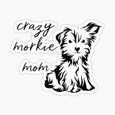Morkie Stickers Redbubble