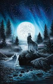 howling wolf wallpaper iphone 2020 3d