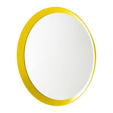 ikea mirror yellow 19 58 2210262620184