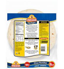 burrito flour tortillas mission foods