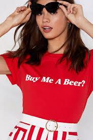 women s clothing me a beer tee