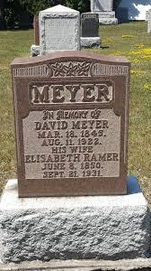 David Meyer (1845 - 1922) - Genealogy