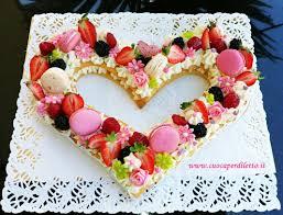 Cream tart per la festa della mamma... - Cuoca per Diletto
