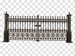 Gate Iron Railing Fence Clip Art Baluster Wall Painting Transparent Png