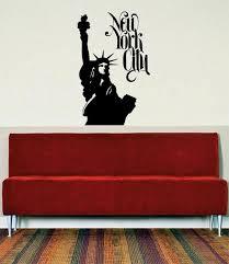 Statue Of Liberty New York City Ny Design Decal Sticker Wall Vinyl Dec Boop Decals