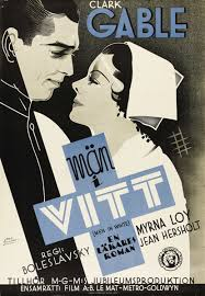 """Men In White (MGM, 1934). Swedish One Sheet (27.5"""" X 39.5""""). 