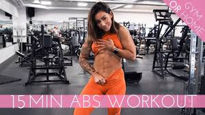 15 min abs workout do it in the gym