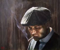 Tommy Shelby Art Print | Peaky Blinders Art by Adrian Hill ...