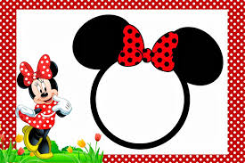 Minnie In Red Free Printables And Party Invitations