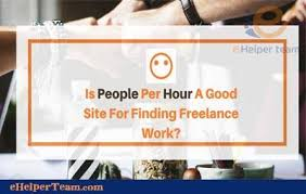 what is PeoplePerHour site and how to buy and sell | e helper team