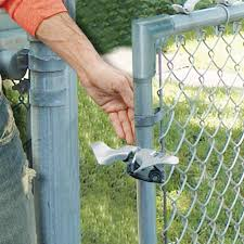 1 3 8 X 1 3 8 Chain Link Fence Gate Fork Latch Fence Gate Latch Galvanized Fence Gate Latch With Hole For Padlock Gate Latches