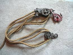 Antique 1897 Cast Iron Rope Pulley Block Tackle Barbed Wire Fence Stretcher Tool For Sale Mattsmusicpage