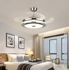 36 invisible ceiling fan light dining