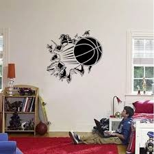 Basketball Player Sticker Car Decal Sports Posters Home Decoration Vinyl Wall Decals Decor Mural Basketball Wall Decal Wall Stickers Aliexpress
