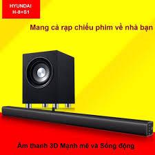 Dàn âm thanh tại gia gồm Soundbar Tivi TVS- A3 + Loa Sub Subwoofer S1 với  công suất mạnh mẽ cho chất lượng âm thanh như trong rạp chiếu phim - Dàn
