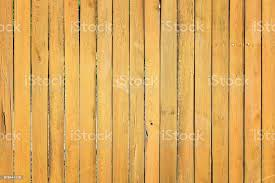 Wall Of Thin Wooden Slats Old Orange Fence With Wood Texture Stock Photo Download Image Now Istock