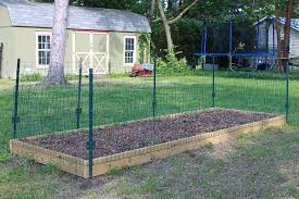 Vegetable Garden Fence Posts Apartments