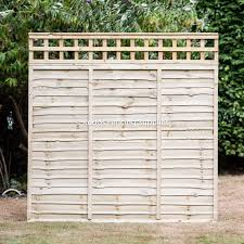 Trellis Top Lap Panel Kudos Fencing Supplies Uk Delivery